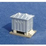N-002 Unit Models Battery House (painted) (2)